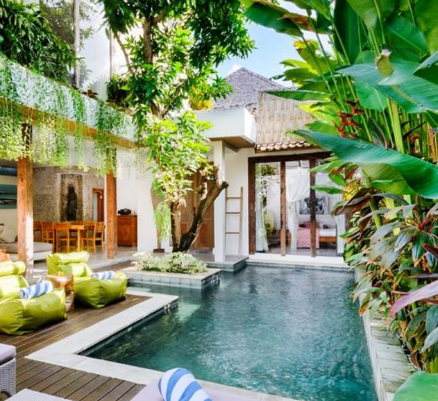 Một góc khong gian Tropical Style